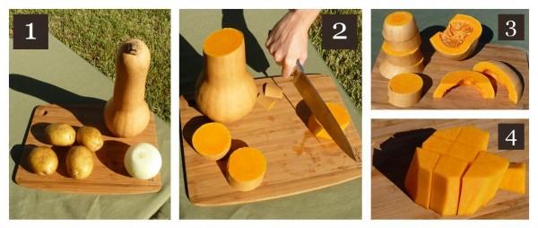 Cream Of Butternut Squash Soup Steps