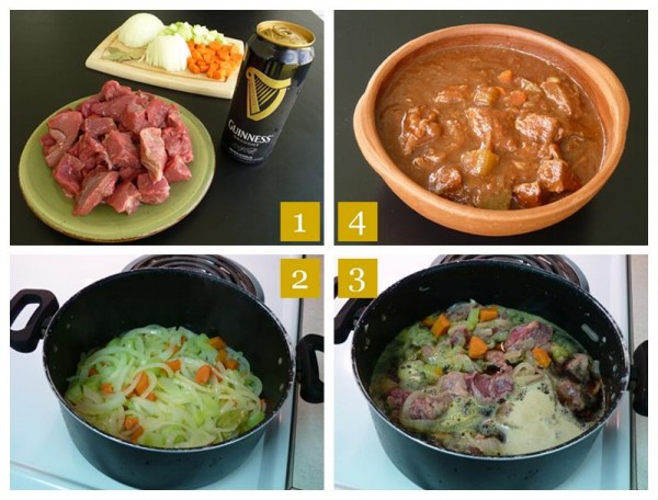 Guinness Beef Stew Steps