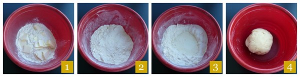 Biscotti Steps Dough