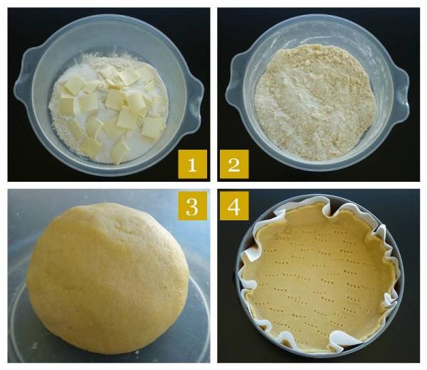 Pasta Frolla Steps