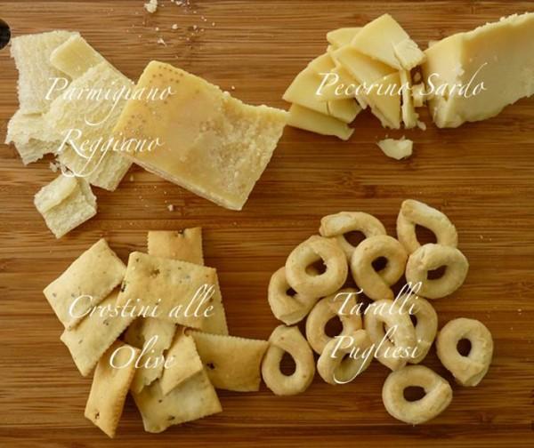 Cheese and Bread Italian Feast
