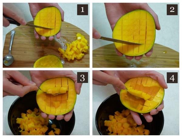 Cubing Mangoes