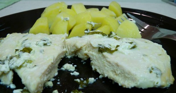 Chicken Marinated with Yogurt Lemon and Mint