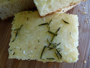 Focaccia with a secret ingredient - chunk