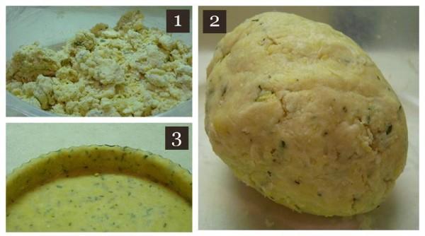 Tart pie dough