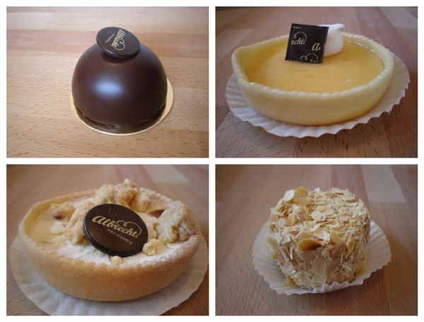 Four French pastries in Berlin