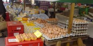 Eggs stall