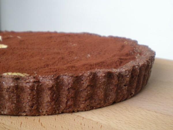crostata di cioccolato alla crema pasticcera -2