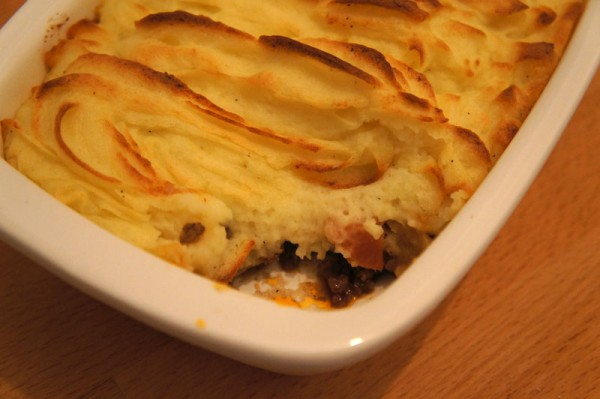 Shepherd's Pie - inside