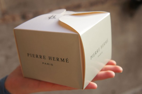 My pastry case from Pierre Herme