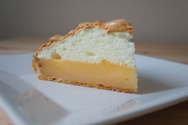 Lemon Meringue Pie - slice