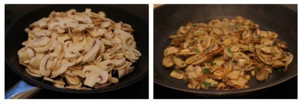 Sauteed mushrooms - funghi trifolati