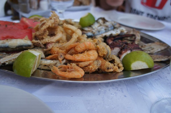 Mixed Fish Appetizer