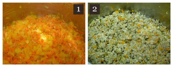 ragu - bolognese sauce - steps