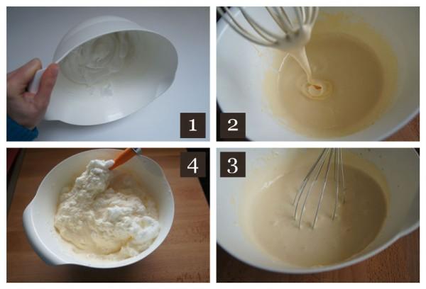 Tiramisu Cream - steps