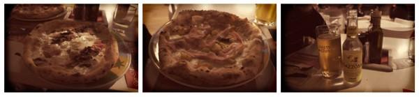 Pizza Napoletana And Italian Drinks