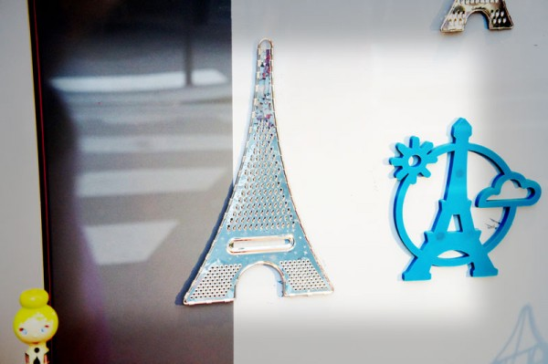 Grattugia a forma di Tour Eiffel