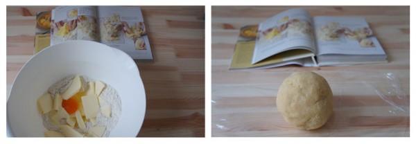 Base della crostata - Pasta Brisè