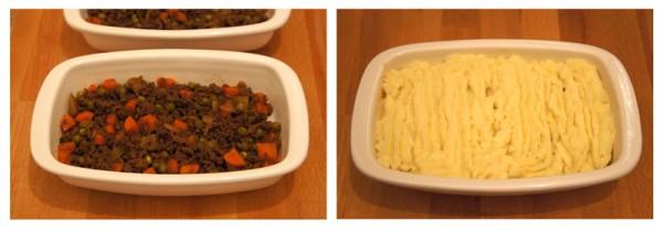 Torta del Pastore - carne e pure' Shepherd's Pie