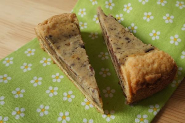 Fette di Crostata Cioccolato mascarpone e ricotta
