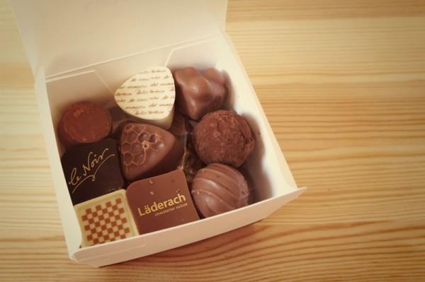 Cioccolata svizzera Laderach