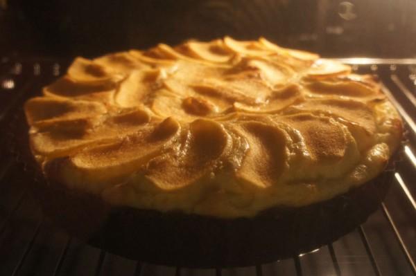 Crostata simil cheesecake al mascarpone e mele - nel forno
