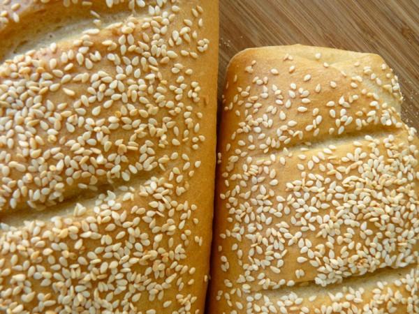Pane con la semolina