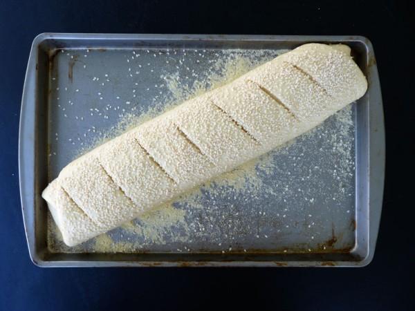 Pane con la semolina - ultima lievitazione