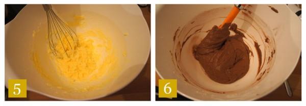 Secondo strato al cioccolato