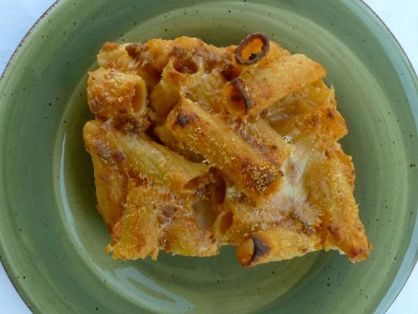 Pasta al forno - ragu e besciamella