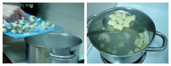 Cuocere gli gnocchi di patate
