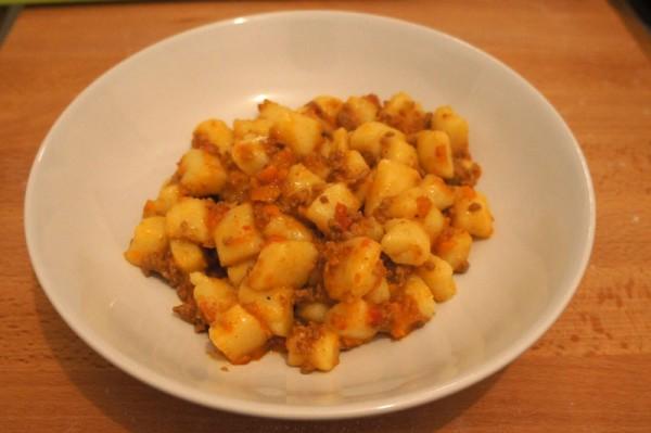 Gnocchi di patate al ragu