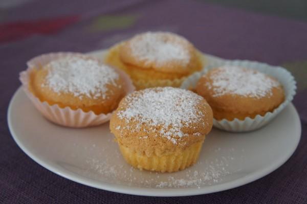 Tortine Pan Di Spagna E Crema Pasticcera Senza Glutine