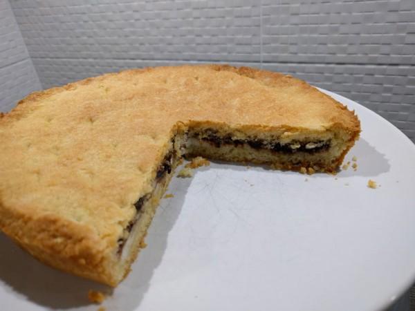 Crostata marmellata di prugne e ricotta