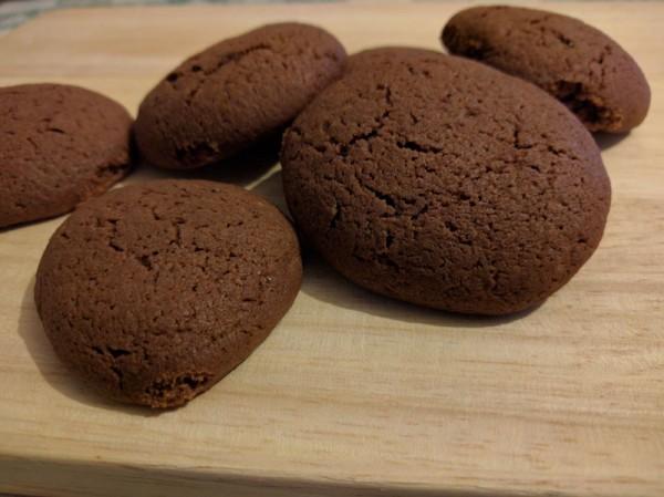 biscotti morbidi al accioccolato